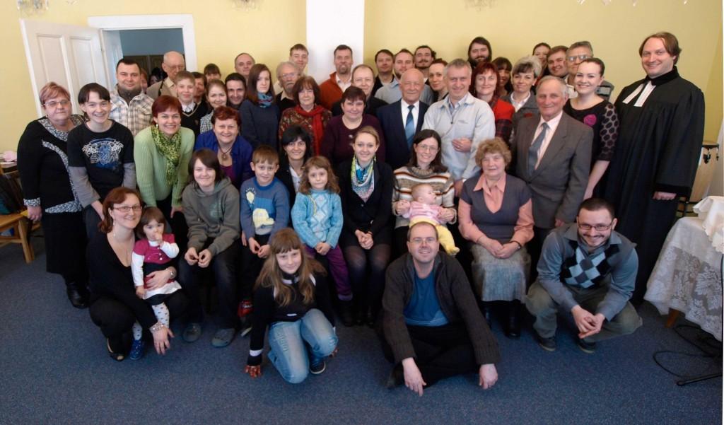 Účastníci Velikonočních bohoslužeb
